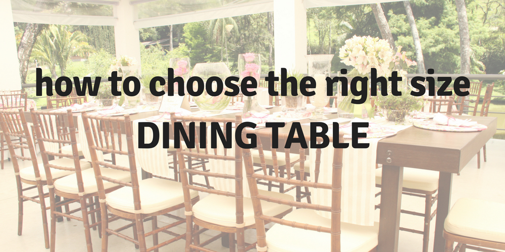 Dining Table Dimensions: How to Choose the Right Size Dining Table