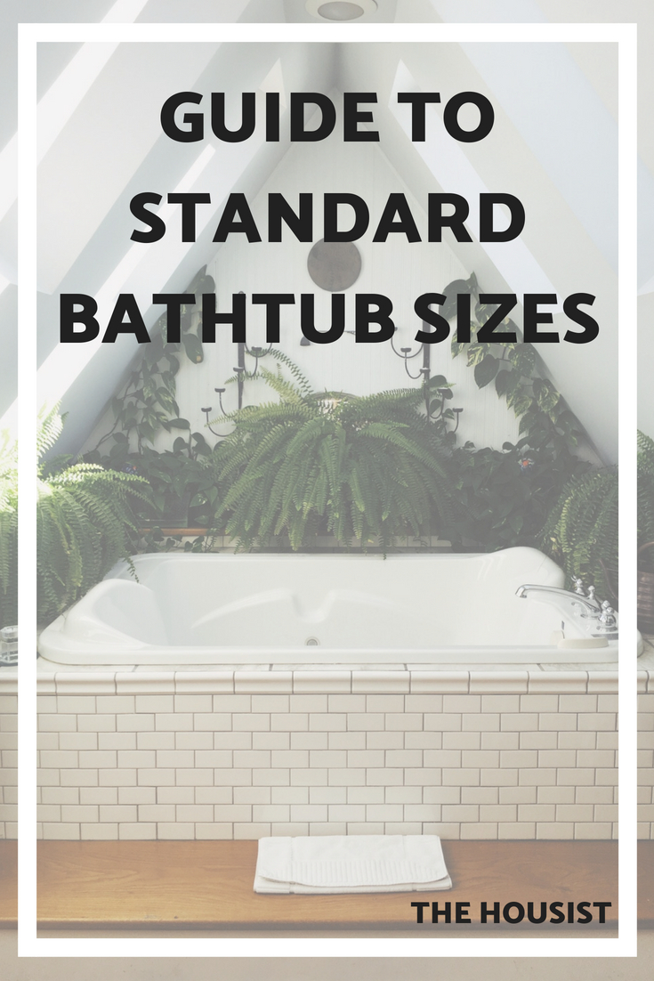 Bathtub Sizes & Dimensions: Guide to standard tub sizes | The Housist