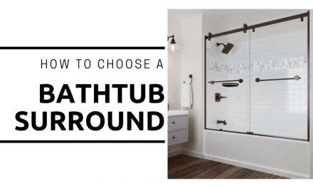 How to Buy a Bathtub Surround